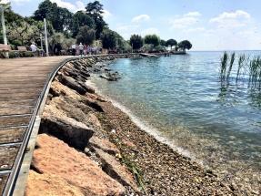 Uferpromenade in Bardolino. Gardasee Mai 2016