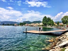 Auf dem Weg nach Garda am Gardasee. Mai 2016