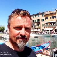 Ich in Lazise am Gardasee. Mai 2016