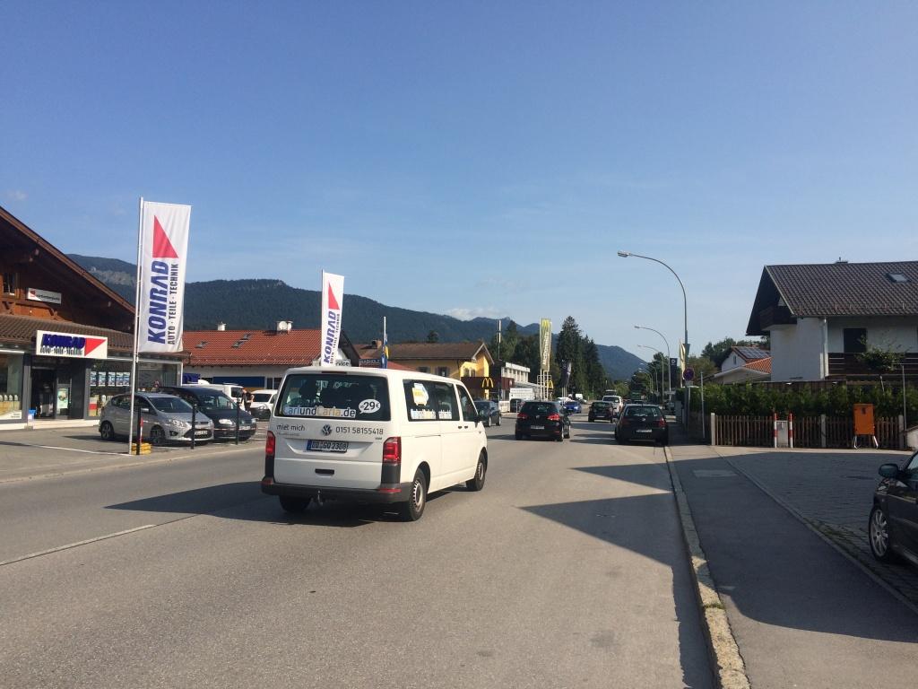 Hauptstraße in Garmisch-Partenkirchen