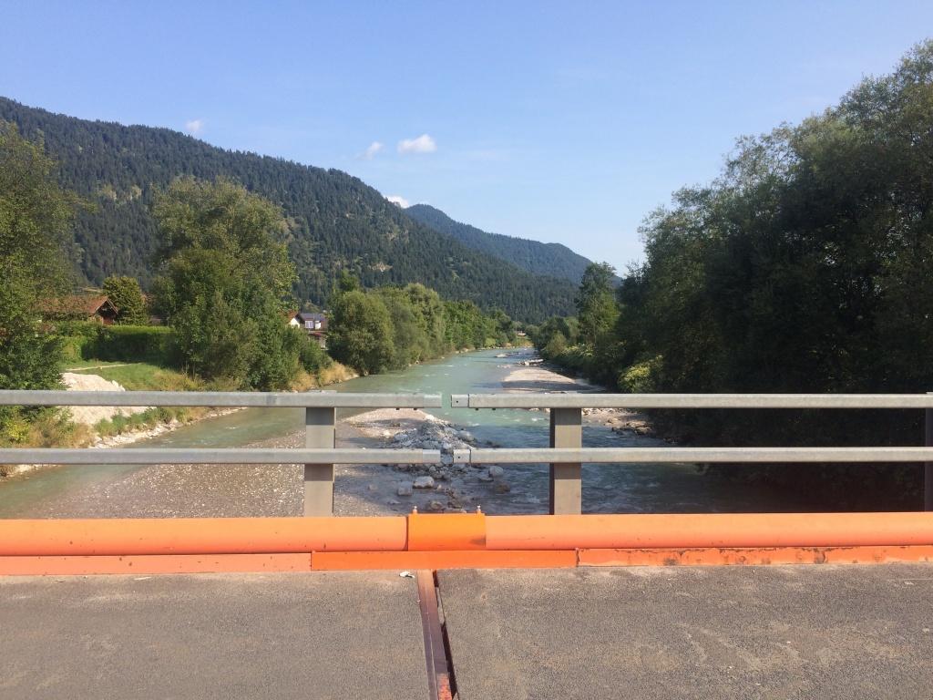 Die Loisach - mein Begleiter für die gesamte Radtour