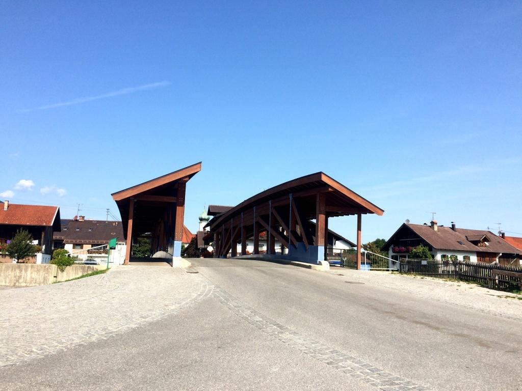Die Brücke in Eschenhohe