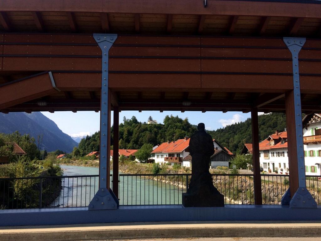 Blick von der Eschenloher Brücker