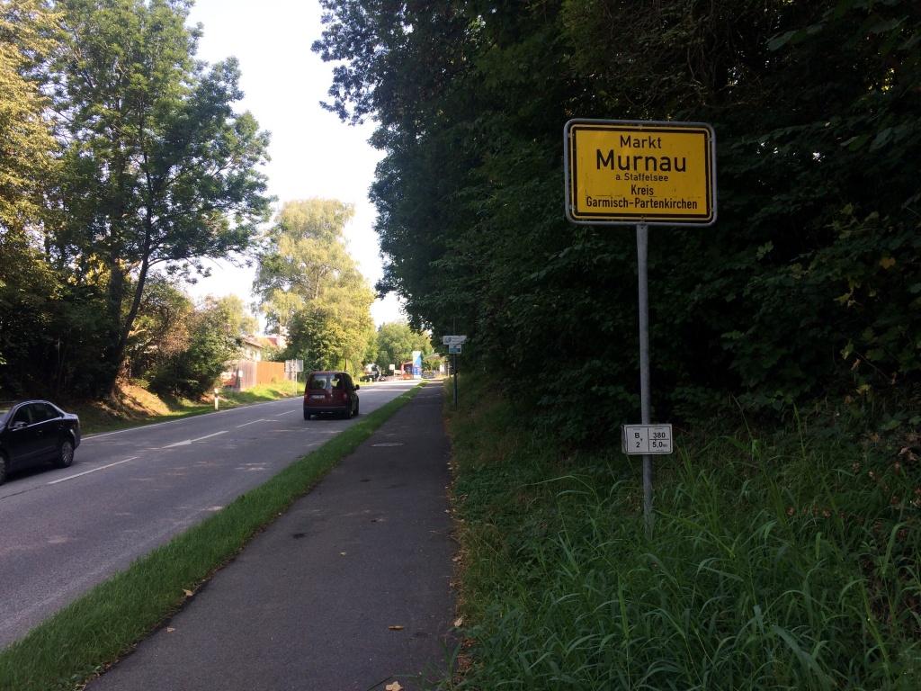 Ortseingang Murnau