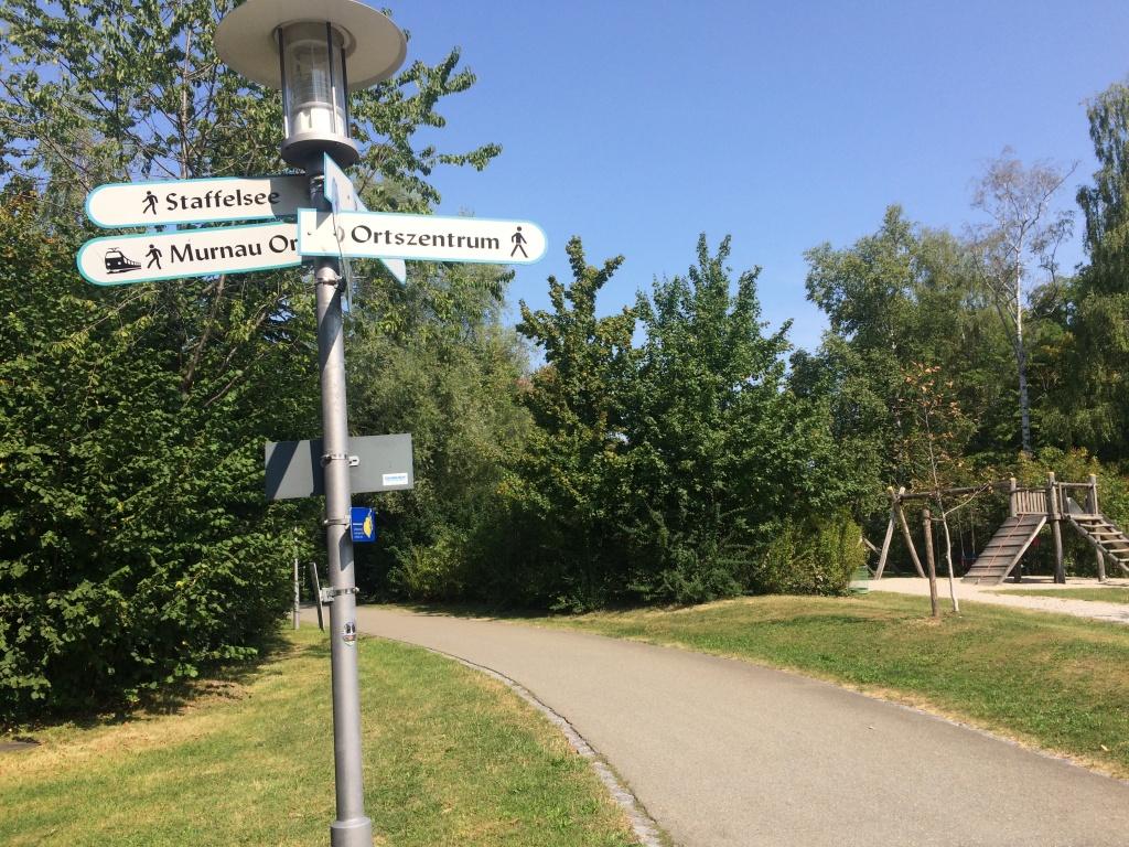 Im Stadtpark von Murnau