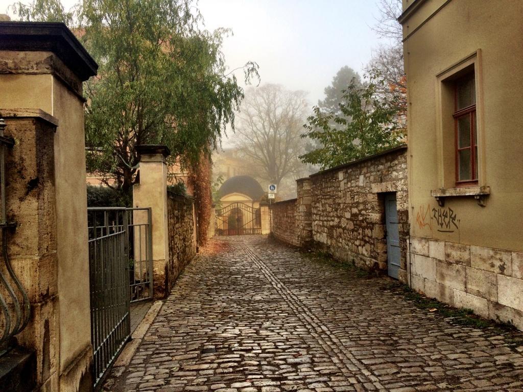 Die Seifengasse in Weimar