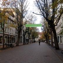 die Schillerstraße in Weimar