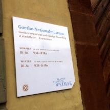 Goethe-Museum in Weimar