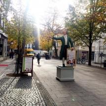 in der Schillerstraße in Weimar