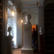 in der Anna-Amalia-Bibliothek