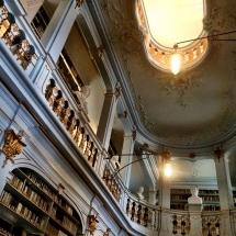 in der Anna-Amalia-Bibliothek in Weimar