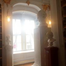 Goethe-Büste in der Anna-Amalia-Bibliothek in Weimar