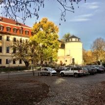 die Anna-Amalia-Bibliothek in Weimar