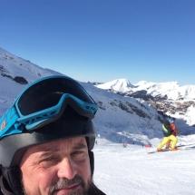 Im Skigebiet Portes du Soleil mit Blick gen Avoriaz