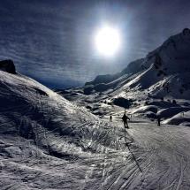 Im Skigebiet Portes du Soleil