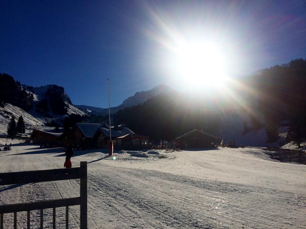 Im Skigebiet Portes du Soleil - Les Lindarets