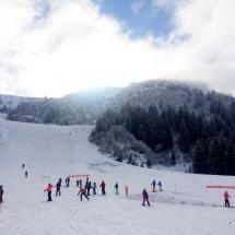 Im Skigebiet von Morzine & Les Gets
