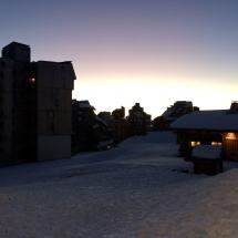 Morgenstimmung in Avoriaz