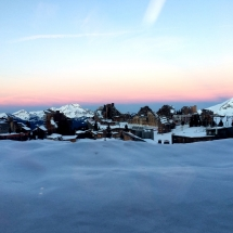 Morgenstimmung in Avoriaz