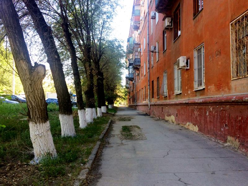 In Wolgograd Sommer 2018