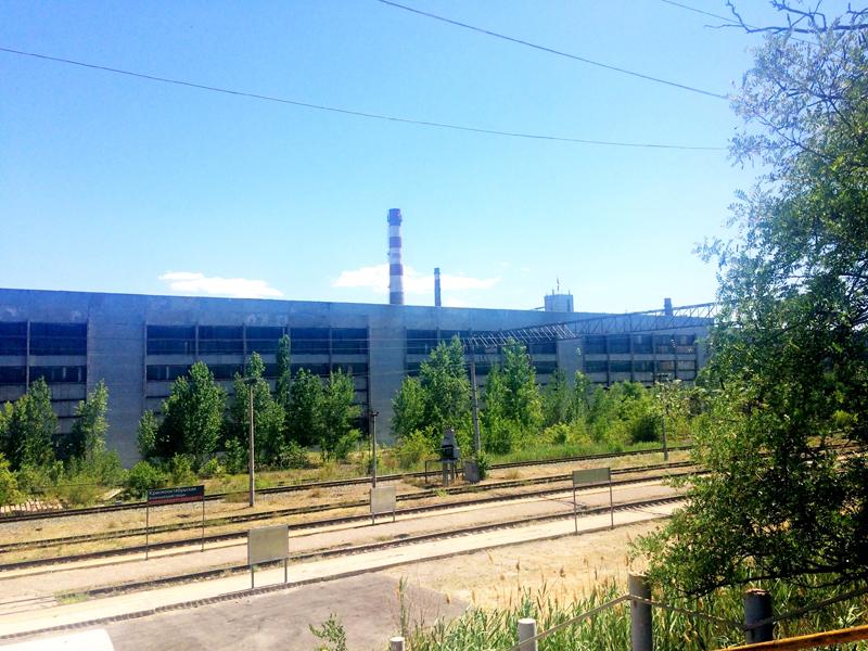 Stahlwerk Roter Oktober in Wolgograd