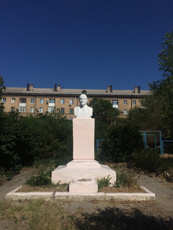 Lenin in Wolgograd